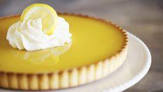 Easy Lemon Tart Recipe, French Lemon Tart Recipe, Lemon Recipes, Tart Recipes, Lemon Desserts, Fun Desserts, Dessert Recipes, Pie Dessert, French Quiche Recipe