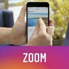 "Instagram'da ""zoom"" özelliği olduğunu biliyor muydunuz? #Socialmediamarketting #sosyalmedya #socialmedia #digitalagency #digitalmarketing #dijitalajans #instagram #facebookpage #facebook #Google #googleadwords #ajans #creative #infografik #infographic"