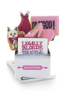 OMG! A bespoke tin we made for the Legally Blonde musical to celebrate their birthday. See LEGALLY BLONDE live on stage at Music Circus June 14-19, 2016 at the Wells Fargo Pavilion. TICKETS: http://www.californiamusicaltheatre.com/events/legally-blonde/