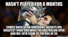 Roger Federer Australian Open #18 Bel18ved vs Rafael Nadal Severin Roger Federer Team RF Mirka Federer Twin Leo Lenny Myla & Charlene
