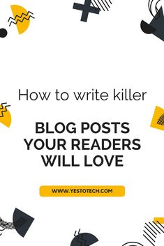 If you want to run a successful website, then you need to create blog posts that your readers are going to love. This is how to write blog posts the right way!