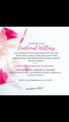 Emotional Wellness Workshop, Christchurch