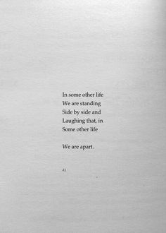 In SoMe OtHeR LiFe