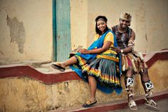 Tsonga attire African Outfits, African Attire, African Fashion Dresses, African Dress, Traditional Weddings, Traditional Dresses, Africa People, African Print Fashion, South Africa