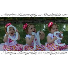 One year old birthday @Brandi Jordan  We need to do this soon!!! So can have this at her party :)