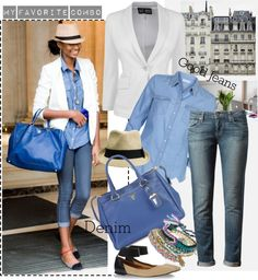 """good jeans 2..."" by marybloom ❤ liked on Polyvore"