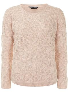 Rose pretty stitch jumper - New In Clothing  - What's New