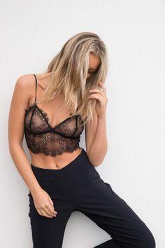 Black Magic Lace Bralette – Style Addict
