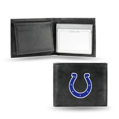 Indianapolis Colts Embroidered Leather Billfold