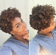 Curls and tapers