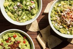 Everything You Need to Know About Guacamole Tired of the same old guac? Take this essential party dip on a trip around the world. by Rhoda Boone