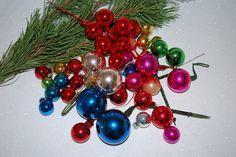 Vintage 1960's Glass Christmas Balls  42 Assorted by samjams3, $22.00