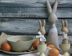 Królik typu Tilda, Bunny Tilda Maileg Easter by pozachodzie.com