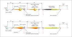 Resultado de imagen para lineas de pejerrey tramposa