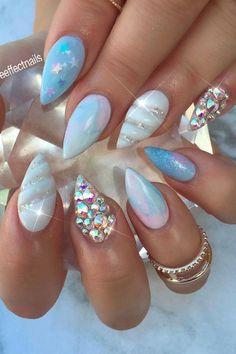 Beautiful Nail Designs, Beautiful Nail Art, Beautiful Pictures, Nail Designs Spring, Nail Art Designs, Mermaid Nail Art, Thanksgiving Nail Art, Special Nails, Halloween Nail Art
