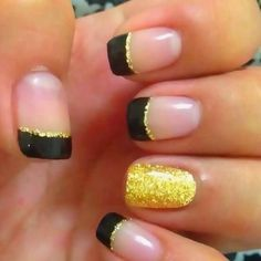Nails without the yellow ring finger
