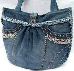 Make your own Denim Purse