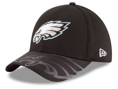 c09b2e19782 Philadelphia Eagles New Era 2016 Official NFL Sideline 39THIRTY Cap