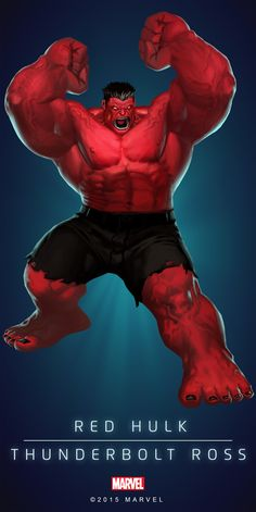 Red-Hulk - Poster_01.png (2000×3997) ...°°