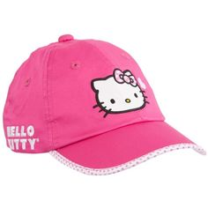 Hello Kitty Sports Women's Love Hat ($17) ❤ liked on Polyvore