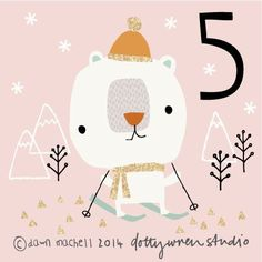 dottywrenstudio: advent 5