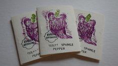 """""""Violet Sparkle"""" Pepper Seeds"""