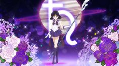 Sailor Saturn Crystal, Sailor Moon Transformation, Sailor Saturno, Saylor Moon, Sailor Moon Wallpaper, Sailor Venus, Sailor Scouts, Wallpaper Pc, Princesas Disney