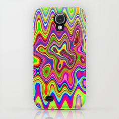 #Psychedelic #Glowing #Colors #Pattern #SAMSUNG #GALAXY S4  $35.00  http://society6.com/BluedarkatLem/Psychedelic-Glowing-Colors-Pattern_iPhone-Case#9=152