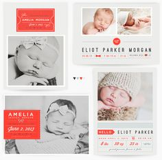 Ticket to Love - baby announcements - Birth Announcement card template available through Jen Boutet Photography with your newborn portrait session in Charlottesville, Va. www.jenboutet.com