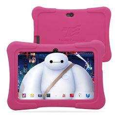 Dragon Touch 7 Quad Core Android Kids Tablet with Wifi and Camera and Games HD Kids Edition w/ Zoodles Pre-Installed New Model with Pink Silicone Case) Kids Tablet, Tablet 7, Touch Tablet, New Tablets, Apple Magic, Android 4, Latest Android, Computer Accessories, Kids Learning