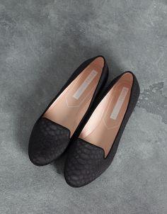 Zapato Plano Básico Bershka - Zapatos - Bershka España