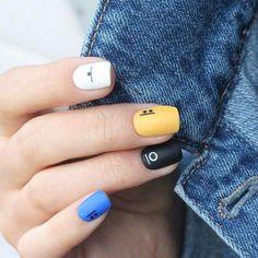 Short Nail Designs: Nail Art Designs for Short Nails to Try nailart shortnails nails manicure naildesigns 499477414922770797 Acrylic Nail Art, Nail Art Diy, Easy Nail Art, Cool Nail Art, Diy Nails, Cute Nails, Manicure For Short Nails, Gel Manicure, Simple Nail Art Designs