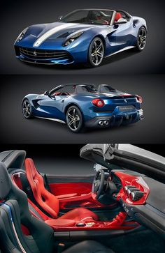 The Ferrari California was unveiled at the 2008 Paris Motor Show. The car went into production in 2008 and is still being produced by Ferrari. The car is available as a 2 door grand tourer coupe and as a hard top convertible. Ferrari Car, Ferrari 2017, Super Sport Cars, Super Cars, Most Expensive Ferrari, F12 Berlinetta, Exotic Sports Cars, Best Luxury Cars, Muscle Cars