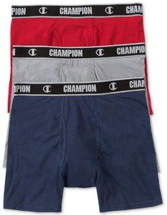 34d5b13cb3 Champion Men s 3-Pk. Performance Boxer Briefs Boxer Briefs