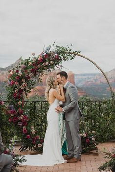 This gorgeous boho wedding in Arizona is all about the moon and stars. The bride and groom created a unique out-of-this-world experience their guests won't soon forget. arch Ethereal Bohemian Wedding in the Red Rocks of Arizona wedding arch Perfect Wedding, Dream Wedding, Future Mrs, Thailand Wedding, My Sun And Stars, Arizona Wedding, Burgundy Wedding, Garden Wedding, Wedding Styles