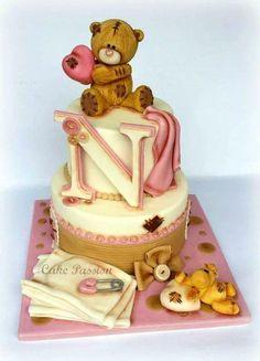 Tatty Teddy Girl - Cake by CakePassion