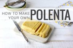 We'll show you how to make your own polenta in this easy step-by-step tutorial. And we've also got some delicious polenta recipes for you too!