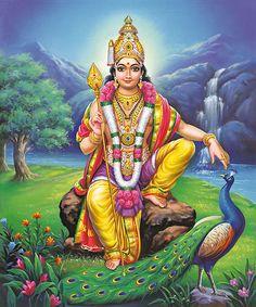In the circumstances behind birth legend do not involve . semen incubates in River preserved by the heat of god Agni, and this fetus is born as baby on the banks of Shiva Art, Ganesha Art, Shiva Shakti, Hindu Art, Lord Ganesha, Lord Krishna, Kali Shiva, Indian Goddess, Goddess Lakshmi