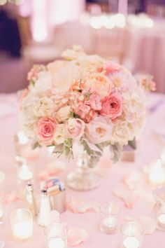 Show me your centerpieces!!! Tall, small, and all! - Weddingbee