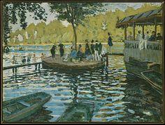 La Grenouillère Claude Monet (French, Paris 1840–1926 Giverny)