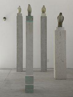 Jane Rosen-'A Class of Birds Installation'-Sears-Peyton Gallery