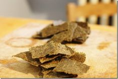 Juice Pulp Cracker Experimentation: Chia crackers (with baking options if you don't own a dehydrator)