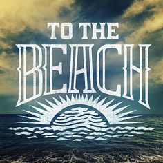 Take me back to the beach.. A little side project for a friend.  #typespire #thedailytype #caligritype #handlettering #type #typographyinspired #handdrawn #handlettered #handletter #beach #ocean #summer