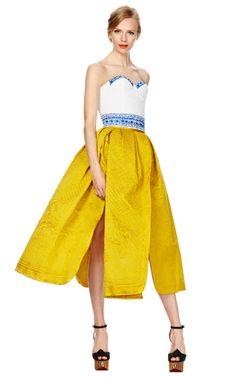 De Volange Skirt by Meadham Kirchhoff Now Available on Moda Operandi