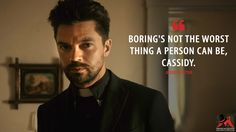 #JesseCuster: Boring's not the worst thing a person can be, Cassidy.  More on: http://www.magicalquote.com/series/preacher/ #Preacher