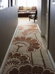 Florence Broadhurst - Japanese Floral Rug by Signature Prints (Florence Broadhurst fabrics, wallpapers, rugs and accessories are available from Mills and Kinsella Interior Design 07921 215026)
