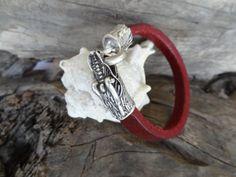 #mensaccessories #bracelet Men's Dragon Bracelet Men's Burgundy Genuine by sevinchjewelry