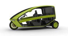 e-trike design v1 by TRISTAN DALAY at Coroflot.com