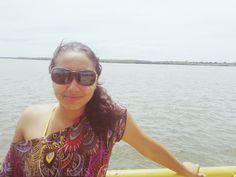 Eu sei que meu óculos tá horrível #JennyReis mas eu gostava dele kkkk #IndoPraPraia