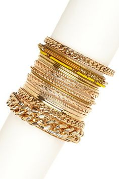 Aries Bangle Set by So Anyway on @HauteLook